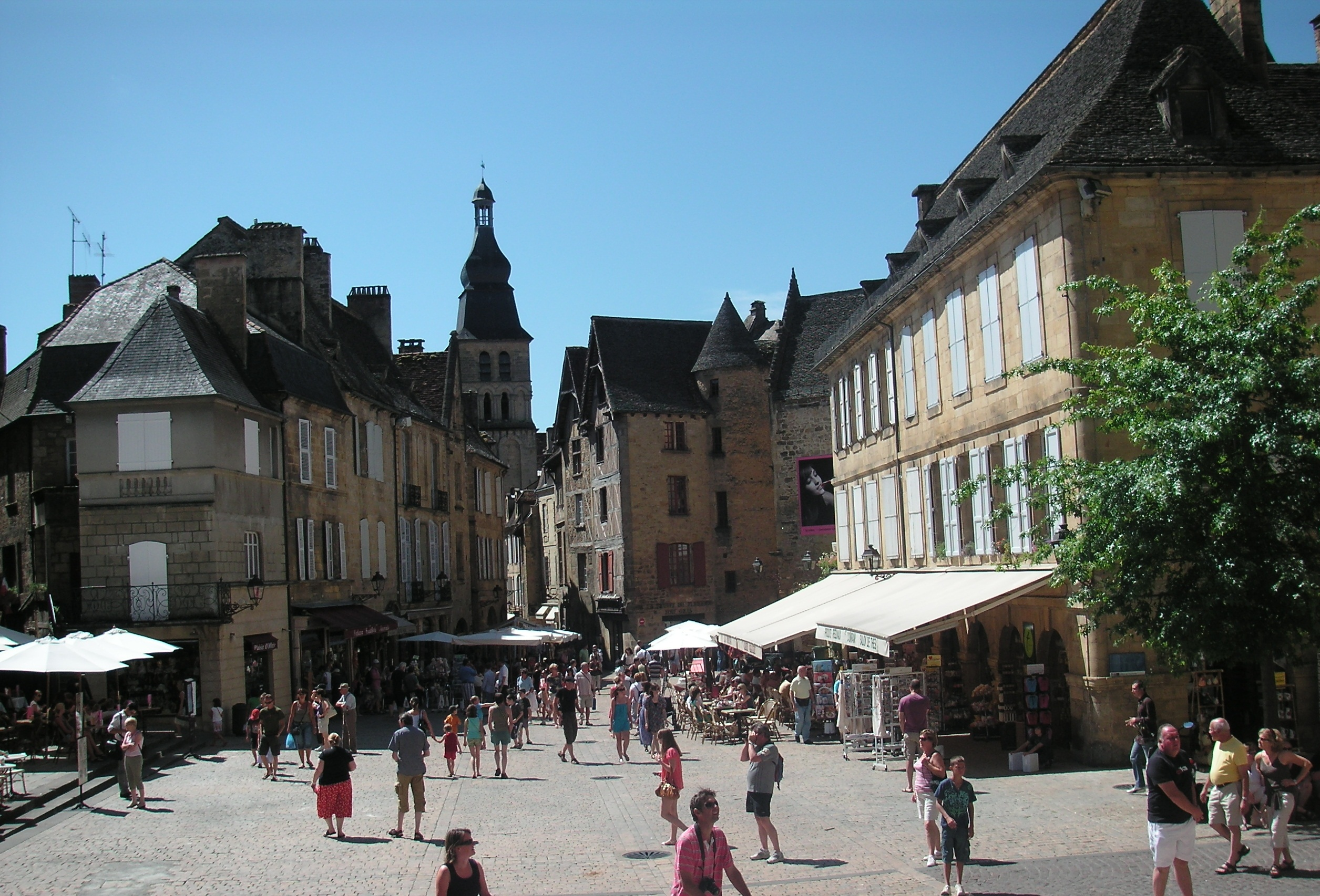 The Dordogne town of Sarlat